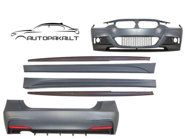 F30 M Performance apdailos paketas - komplektas autopakai