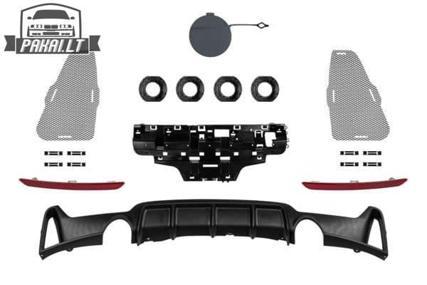 BMW F36 M-performance paketas 8