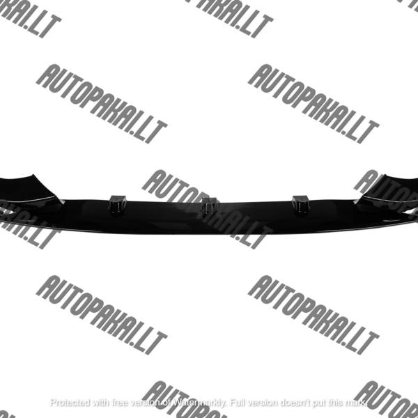 BMW F32/F33/F36 Performance priekinio buferio spoileris (Juodas, blizgus)